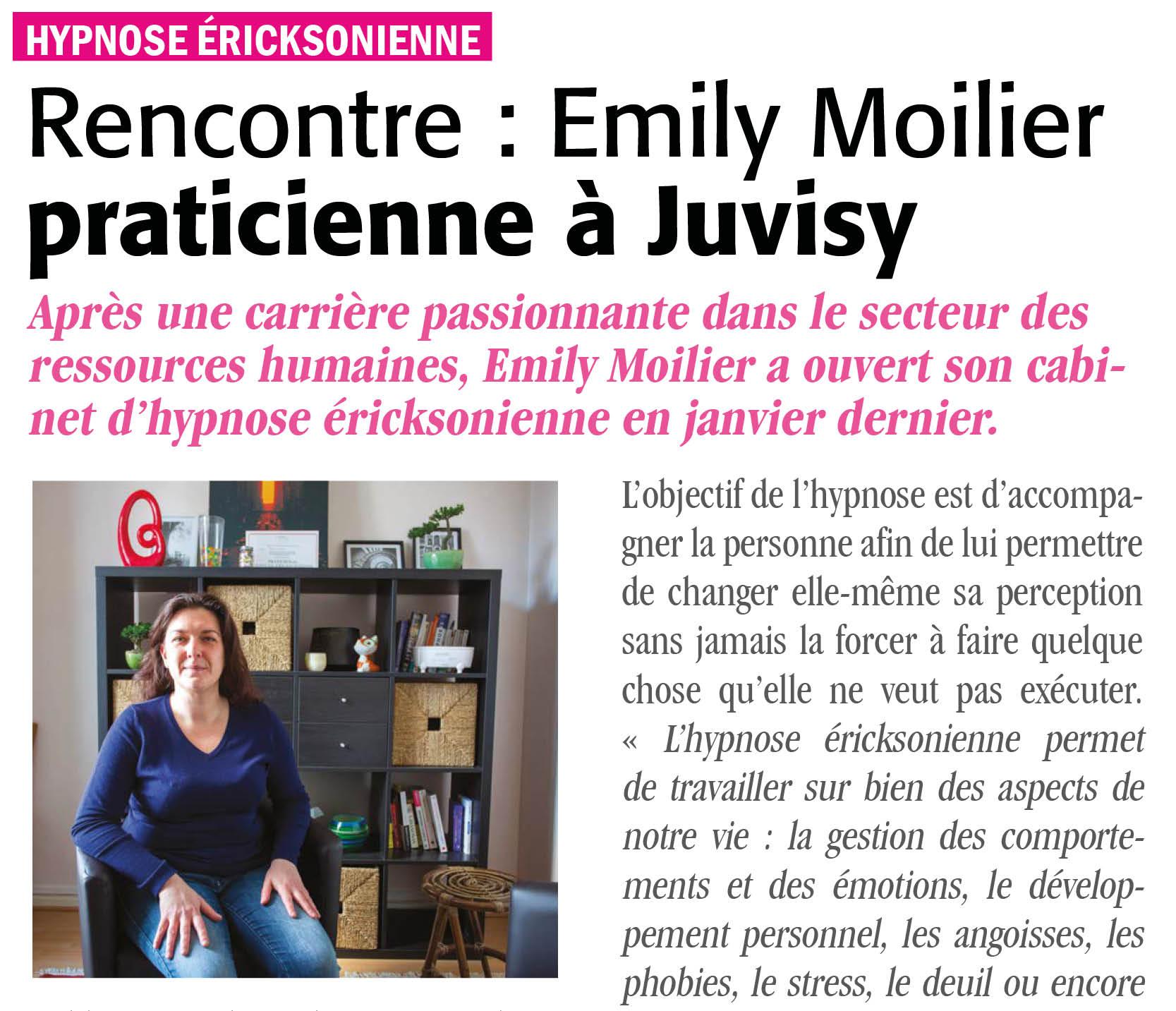 article magazine 267 juvisy sur emily moilier